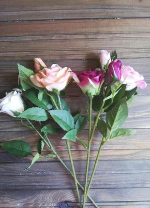 Троянда, роза, кущова троянда, штучні квіти
