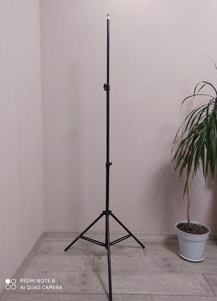 Штатив для кольцевой лампы 2 метра 10 см