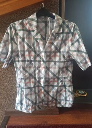 Стильная хлопковая рубашка, сорочка оверсайз от cos