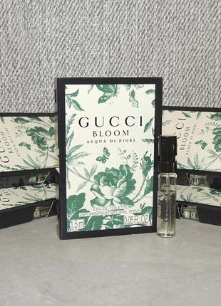 Gucci bloom acqua di fiori пробник для женщин оригинал
