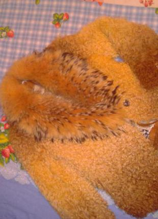Полушубок 46-48 из меха исп.козы, chao yu