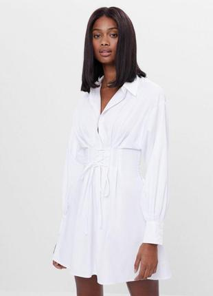 Платье рубашка s m l xl