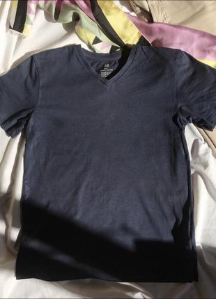 Котонова футболка h&m