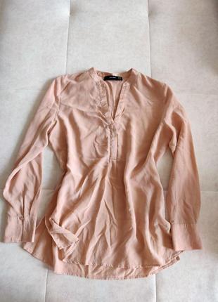 Шелковая блуза рубашка натуральный шёлк