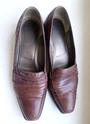 Кожаные туфли на каждый день