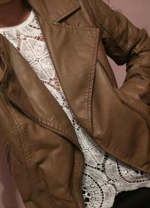 Курточка в идеальном состоянии!цвет кофе с молоком ❤️😍☺️