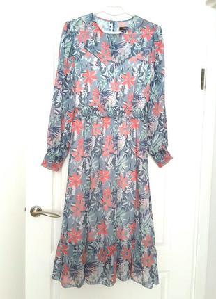 Reserved платье миди  р. 48 (европ.40)