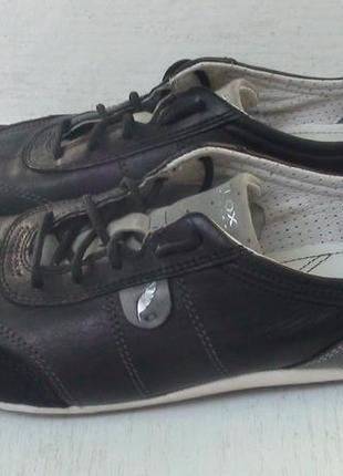 Geox - кожаные кроссовки, кеды