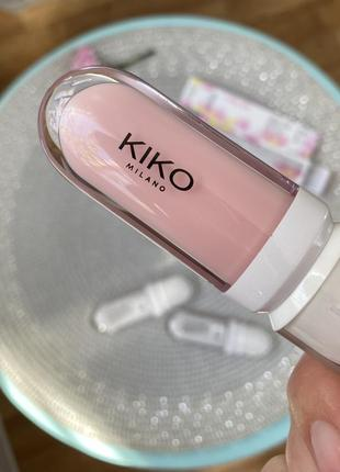 Блеск для губ lip volume kiko milano. с эффектом объема. кико милано.