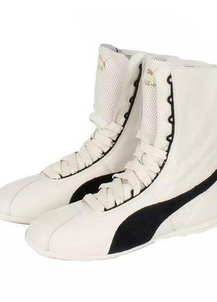 Кросівки борцовки puma 38рр натуральна шкіра / кожаные кроссовки борцовки