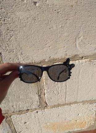 Детские солнцезащитные очки неломайки