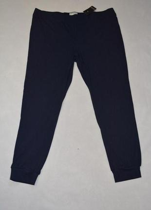 Легкие трикотажные брюки на манжете esmara германия размер 56-58