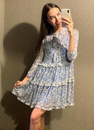 Платье/сарафан в цветок mohito
