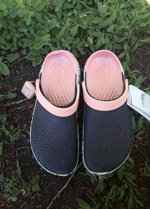 Шлепанцы crocs literide4 фото