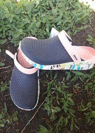 Шлепанцы crocs literide6 фото