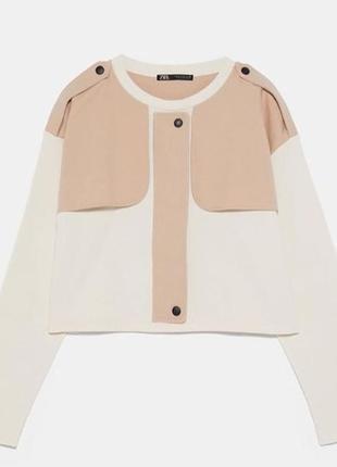 Кофта блуза свитшот zara