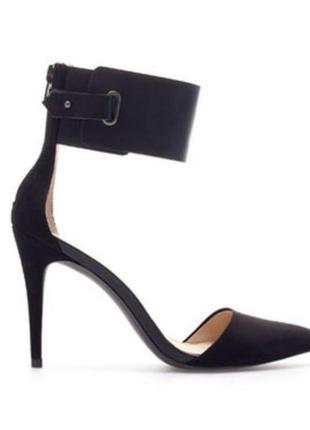Лодочки zara, туфли большого размера zara