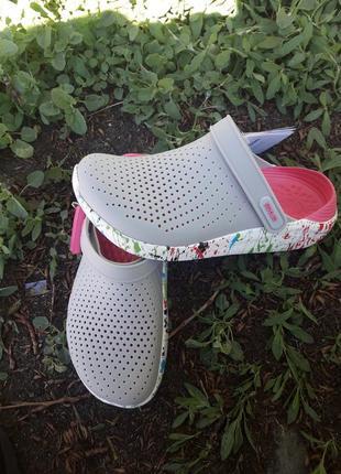 Crocs literide женские кроксы сабо кроксы2 фото
