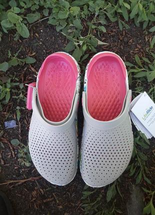 Crocs literide женские кроксы сабо кроксы3 фото