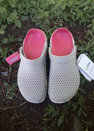 Crocs literide женские кроксы сабо кроксы4 фото