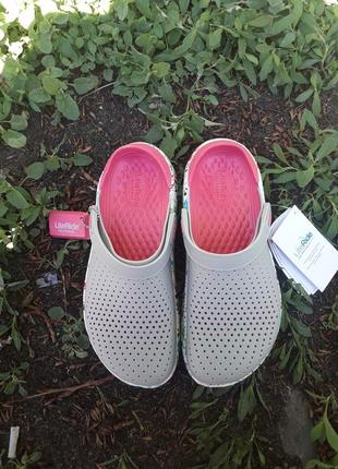 Crocs literide женские кроксы сабо кроксы7 фото