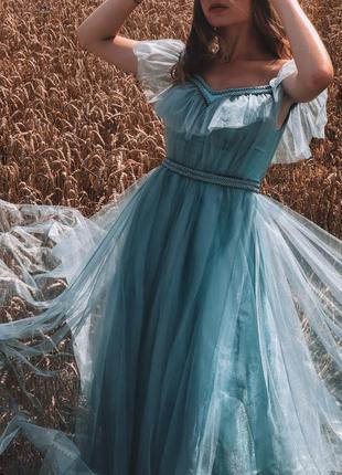 Сказочное выпускное/вечернее платье
