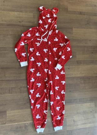 Минни кигуруми слип пижама человечек
