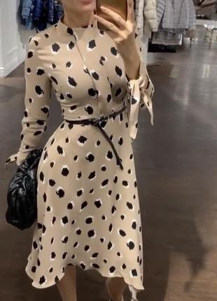 Платье актуальной расцветки