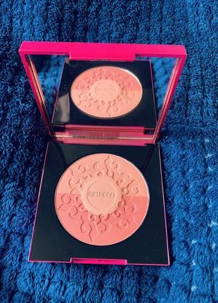 Artdeco бронзирующие румяна для лица bronzing blush2 фото