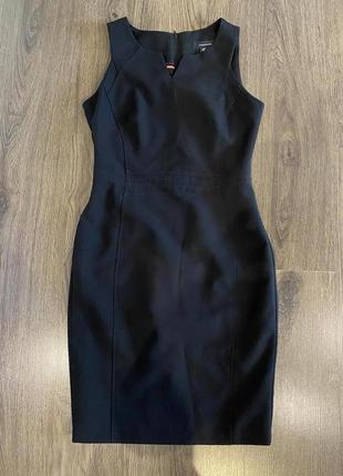 Деловое платье - сарафан р. xs -s
