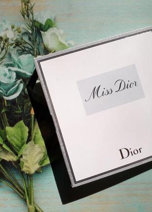 Пробник крем и парфюм miss dior blooming bouquet