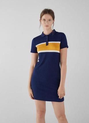 Нове плаття поло bershka