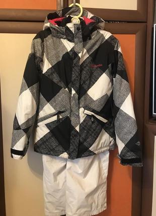Лыжный костюм, термокостюм columbia с комплектом шапки,перчаток