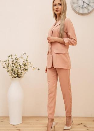 Женский костюм двойка пиджак и брюки
