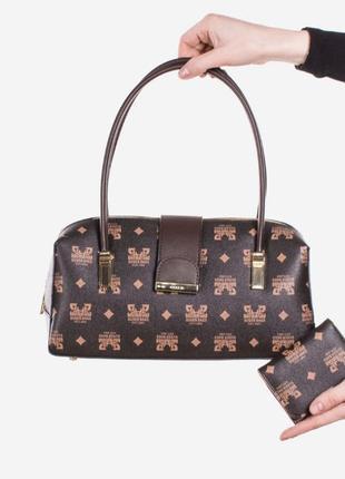 Коричневая женская сумка / новинка / мода