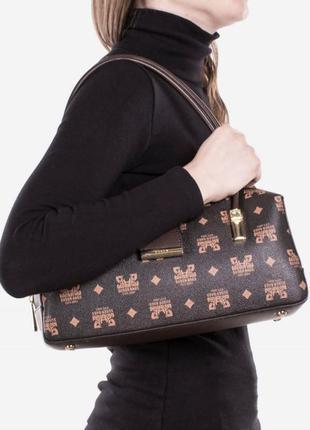 Коричневая женская сумка / новинка / мода3 фото