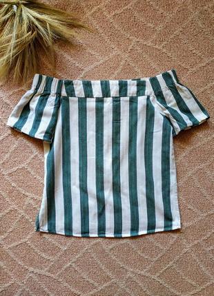 Хлопковая футболка со спущенными плечами asos