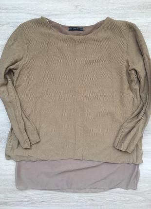 Шикарный брендовые двойной свитерок
