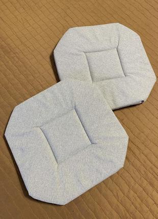 Чехол, подушка на табурет 2 шт