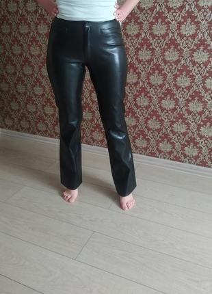 Стильні штани брендові  еко кожа