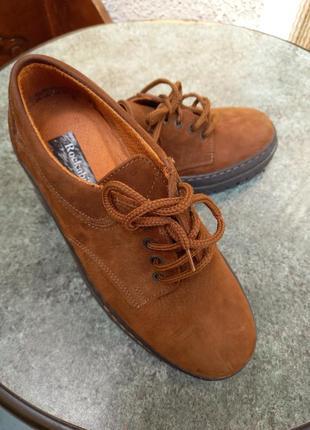 Туфли натуральный нубук италия