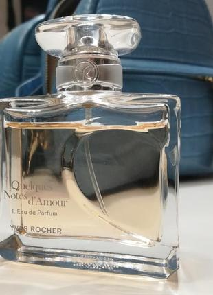 Yves rocher quelques notes d'amour
