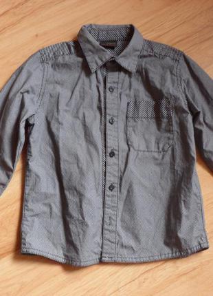 Рубашка next, на 4-5 лет