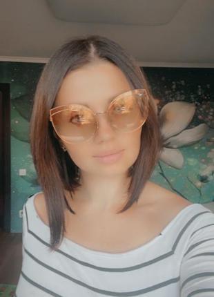 Солнечные очки зеркальные