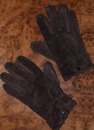 Echtes lader замшеві рукавички перчатки gr: 7.5