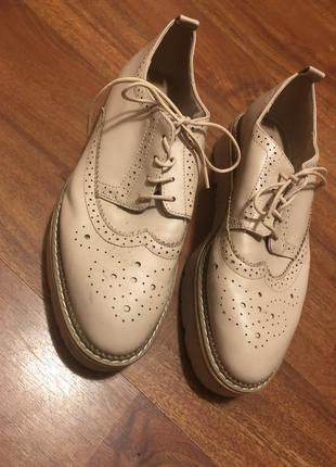 Розовые туфли 37 размер