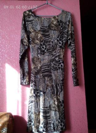 Супер платье со змеиным принтом