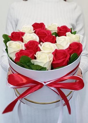 Букет мыльных роз, букет из мыла, букет із мильних квітів