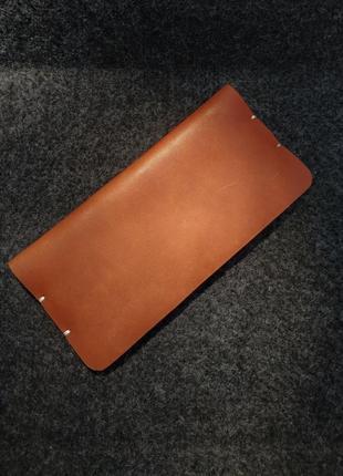 Чехол для телефона из натуральной кожи ручной работы