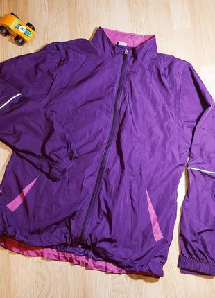 Куртка спортивна безрукавка shamp легенька літня спортивная